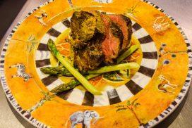 Spiced Shetland Hogget – Thyme's Take on Lamb Shashlik, by Paul Newman, Thyme at Errichel