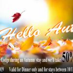 Autumn Offers from Edinbane Lodge