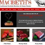 Macbeths own Edinvale Farm meats