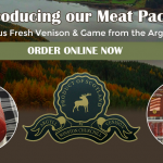 Winston Churchill Venison for Meat Packs & online shopping