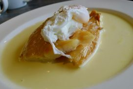 Breakfast Finnan Haddie with poached egg