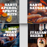 All you need for an epic BBQ from Sarti
