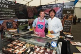 Fire up the BBQ and enjoy Highland Spring Lamb from Macbeths