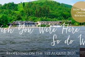The Lodge on Loch Lomond taking online Bookings