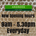 New opening hours for Ardross Farm Shop