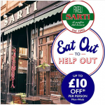 Sarti at Home Continues plus Eat-out-to-help-out