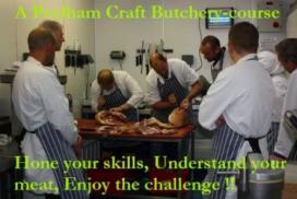Craft Butchery Courses at Peelham Farm