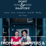 Online Shop Open at Post & Pantry