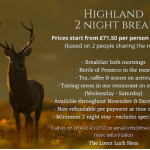 Highland Break at The Lovat