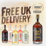 Free UK Delivery for Orkney Craft Vinegar