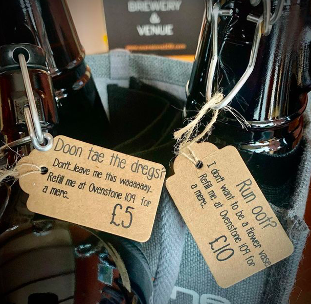 Refill your Ovenstone 109 growler