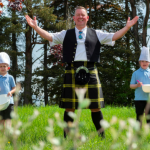 Kilted Chef Craig Wilson Goes Back to School to Support Food Education in Alford Primary