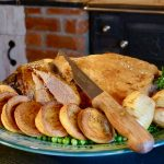 Orkney Boreray Mutton Leg Roast with Bere Puddings