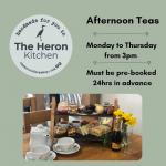 Introducing Heron Afternoon Teas!