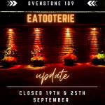 Ovenstone Eatooterie Update